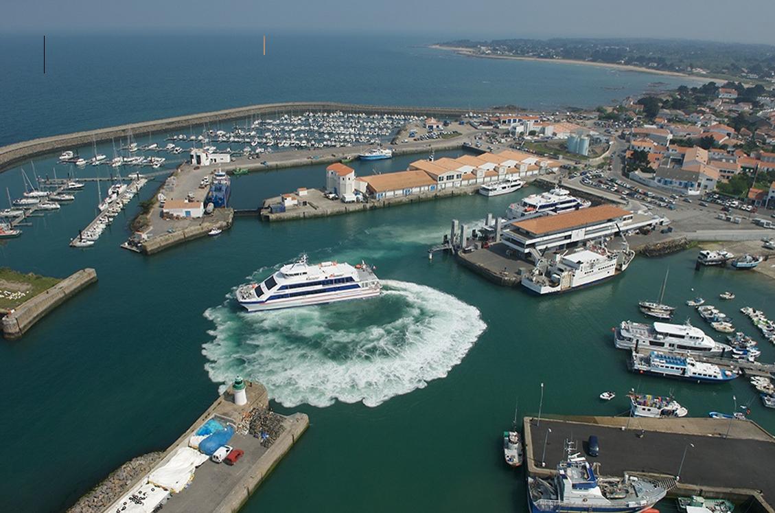 Etude sur l 39 volution du service public maritime entre l - Restaurant port de la meule ile d yeu ...