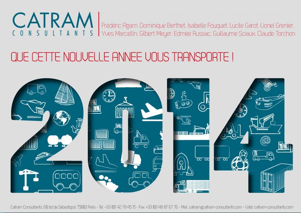 Carte voeux Catram 2014