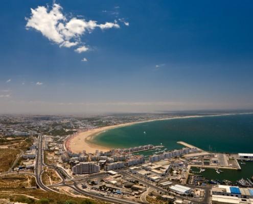 Agadir ville et plage